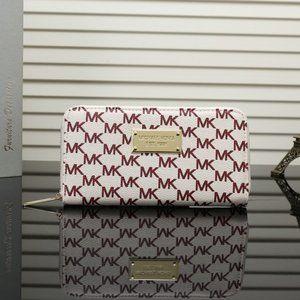 Women Michael Kors Trifold Wallet MK Bags